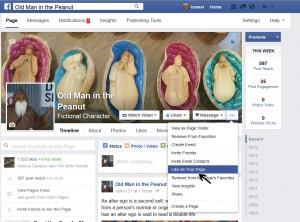 facebook help2oldmaninthepeanut