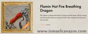 Flamin' Hot Fire Breathing Dragon